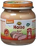 Holle Potito de Ternera 100% (+4 meses) - Paquete de 6 x 125 gr - Total: 750 gr