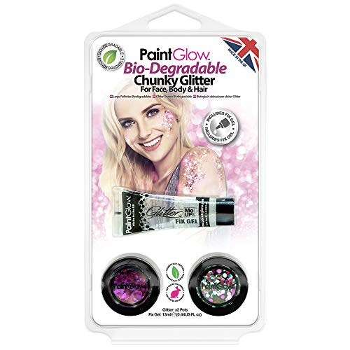 HP14CPK NewProduct (Glow In The Dark Neon Face Paint)