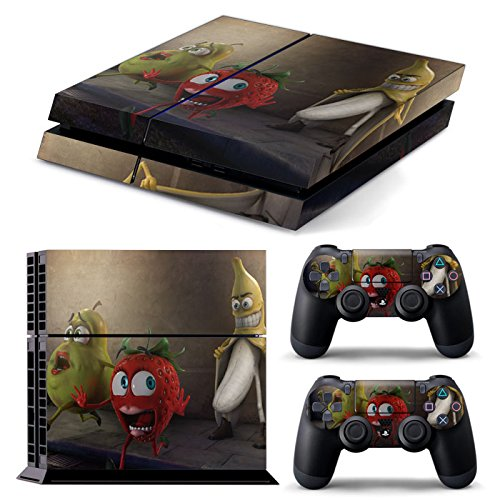 PS4 *Banana* COMPLETO DEL CORPO Accessorio dell'involucro adesivi copertura della pelle Decal per PS4 Playstation (Banana Pelle)