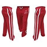 Prime Leather Herren Vlies-jogginghosen Trainingsanzug Boden Jogging Übung Fitness Boxen MMA Gym Schwitz Fleecehose Rot Blau Farbe - Rot, XL