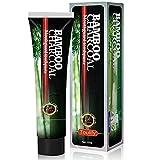 Pasta Dientes de Bambú Carbón Activado, Pastas de dientes, Blanqueador de Dientes, Fresh Breath Bamboo Charcoal Toothpaste 120g, para dientes limpios y aliento fresco