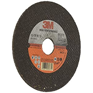 3M(TM) High Performance Cut-Off Wheel T41, 125 mm x 2.5 mm x 22.2 mm, 7A30 T-B304F2-80M/S, PN85373