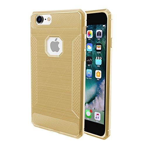 iPhone 6S Coque, Voguecase [Haute Qualité] [Antidéflagrant][Ultra Slim]TPU avec Absorption de Choc, Etui Silicone Souple, Légère / Ajustement Parfait Coque Shell Housse Cover pour Apple iPhone 6/6S 4. Or