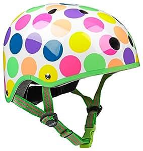 Micro Safety Helmet: Neon Dot (Small 48-52cm)