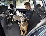 CAR STAR Autoschondecke Autositzschondecke Autoschutzdecke Rücksitzdecke Autozubehör Hund