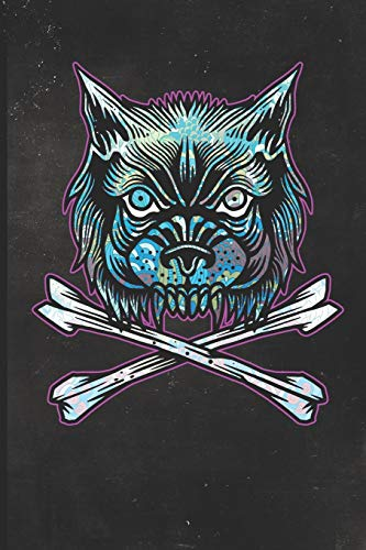 Journal: Wolf Tattoo Design Dot Grid Tattoo Flash Sketching Journal (Sailor Jerry Flash)