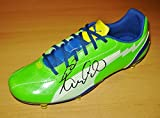 Paulinho SIGNED Soccer Boot Tottenham Hot Spurs AUTOGRAPH Football Shoe + COA