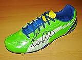 Paulinho SIGNED Soccer Boot Tottenham Hot Spurs AUTOGRAPH Football Shoe + COA