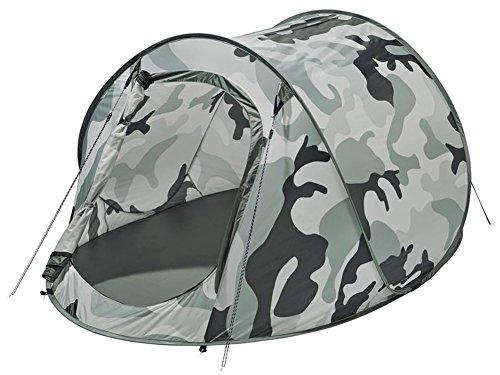 Wurfzelte Zelt Auspacken und werfen - Zelt springt von alleine auf (Camouflage)