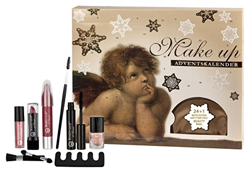 Angelic Beauty Make-Up Calendar 24 + 1 - Beauty-Adventskalender mit extra Kosmetiktasche als Geschenk - von Boulevard de Beauté - Trend Lidschatten-duo