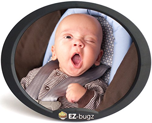 ez-bugz-baby-car-mirror-for-rear-facing-child-seats-big-clear-rear-view-of-your-newborn-infant-in-th