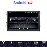 Android 8.0 Full-Touch GPS DVD USB SD WLAN Bluetooth Mirrorlink Autoradio 2 Din NAVI VW Golf 5/Golf 6/Passat/Jetta/Polo/Tiguan/Touran/Caddy/Sharan/Trasporter/Golf Plus/Scirocco/Sagita/EOS/Skoda/Seat
