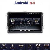 Android 8.0Full-Touch GPS DVD USB SD WLAN Bluetooth Mirrorlink Autoradio 2Din NAVI VW Golf 5/Golf 6/Passat/Jetta/Polo/Tiguan/Touran/Caddy/Sharan/Trasporter/Golf Plus/Scirocco/Sagita/EOS/Skoda/Seat