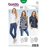Patron de couture Burda Femme - 6849-Chemises 3 Styles by Burda
