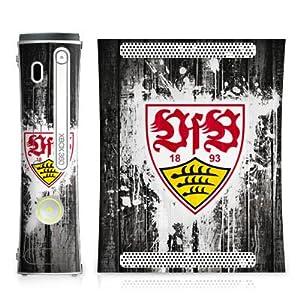 DeinDesign Microsoft Xbox Folie Skin Sticker aus Vinyl-Folie Aufkleber VfB Stuttgart Vatertag Stuggi