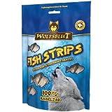 Wolfsblut Snack Fish Strips Kabeljau Streifen 100g, Leckerli, Kauknochen