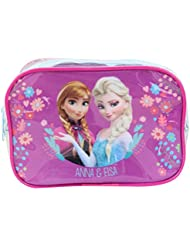 Trousse transparante Fille La Reine des Neiges Elsa and Anna - Violet - TU