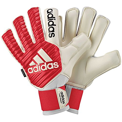 adidas Erwachsene Classic Fingersave Torwarthandschuhe, Real Coral s18/White, 10 (Fingersave Adidas Torwarthandschuhe)