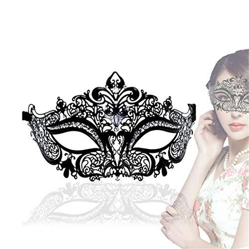 FUBULECY Adult Sex Toys Halloween Maskerade Maske Strass Lace Augenmaske