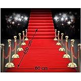 Atosa Tapis Cinéma Rouge 4,50 mètres