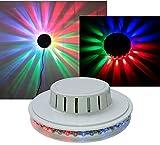 UFO Musik Licht-Effekt 48 bunte LEDs 230V 10 Watt Party