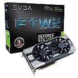 EVGA GeForce GTX 1070 FTW2 GAMING, 8GB GDDR5, iCX Technology - 9 Capteur thermiques& RGB LED G/P/M, Ventilateur asynchrone, Conception de flux d'air optimisé Carte Graphique 08G-P4-6676-KR