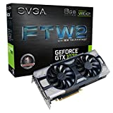 EVGA GeForce GTX 1070 FTW2 GAMING, 8GB GDDR5, iCX Technology - 9 Capteur thermiques& RGB LED G/P/M, Ventilateur asynchrone,...
