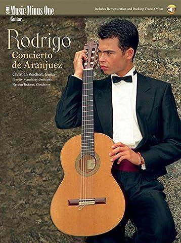 Rodrigo - Concierto de Aranjuez: Music Minus One Guitar