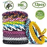 AODOOR Bracelets Anti Moustique, Premium Bracelets Anti-moustiques, Extérieure...