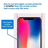 JETech Screen Protector for Apple iPhone X, Tempered Glass Film, 3-Pack