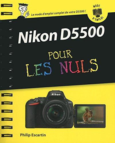 Nikon D5500 Mode d'emploi pour les N...