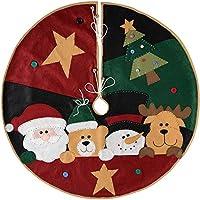 WeRChristmas– Decoración para pie de árbol de Navidad, 100cm, multicolor