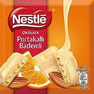 Nestle Çikolata Portakallı Bademli Beyaz Çikolata 65Gr