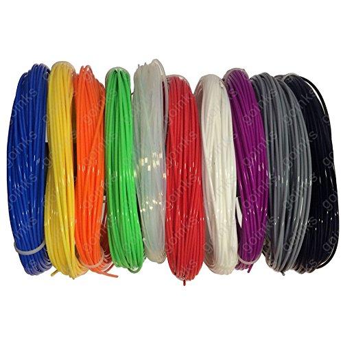 Imprimante 3D–Pla Filament–1.75mm–500g (0.5Kg)–Disponible en différentes couleurs