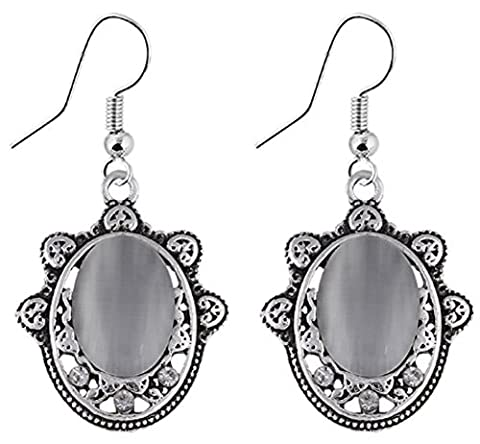 SaySure- Metal Retro Antique Personality Earring