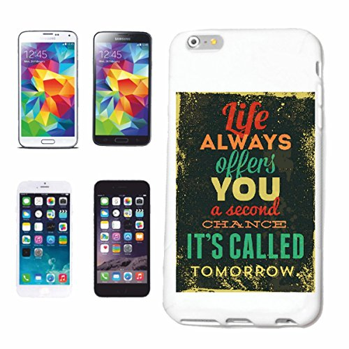 Handyhülle Huawei P9 LIFE ALWAYS OFFERS YOU A SECOND CHANCE IT`S CALLED TOMORROW VINTAGE RETRO VINTAGE LIFESTYLE FASHION GOTHIC BIKER STREET WEAR PARIS MAILAND NEW YORK Hardcase Schutzhülle Handycove