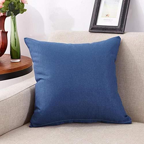 CHLCH Almohada Almohada de Oficina Creativa/sofá/Cama/Banco/Alfombra de Almohada para decoración del hogarFunda...