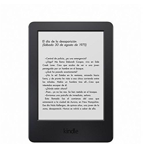 E-reader Kindle, pantalla táctil antirreflejos de 6'' (15,2 cm), Wi-Fi (generación anterior - 7ª)
