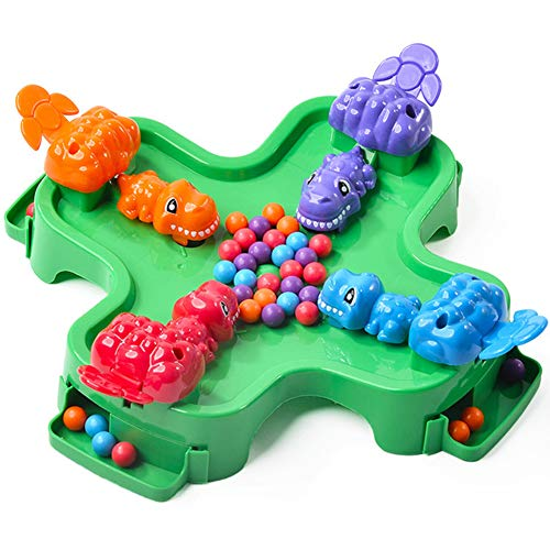 Ysy Kinderspielzeug Desktop Gierige Räuberperlen Dinosaurier-bohnen Für 4-jährige Frühe Bildung Puzzle-spaß Eltern-Kind-interaktion