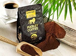 Marley Coffee Lively Up Espresso Roast Whole Bean Coffee