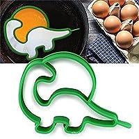 SMCTCRED 1PCS Skull Egg Shaper silicone Omelette strumenti di stampo di cottura gadget da cucina