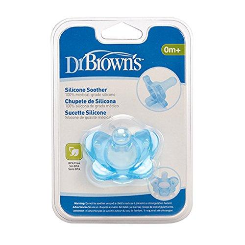 Dr. Brown's PS11004-INTL - Chupete de silicona, +0 meses
