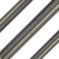 OPIOL QUALITY | Gewindestangen M10 x 1000 mm DIN 975 Edelstahl A2 (4 Stück) | 1 Meter | Gewinde Stange | Gewindebolzen | rostfrei