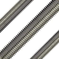 Opiol Quality | Gewindestangen M16 X 1000 Mm Din 975 Edelstahl A2 (4 Stück) | 1 Meter | Gewinde Stange | Gewindebolzen | Rostfrei