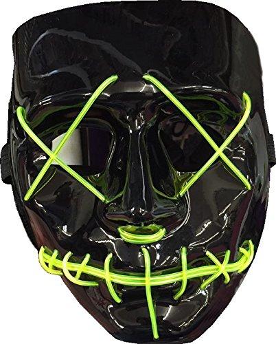 Halloween / Horror LED Leucht Maske