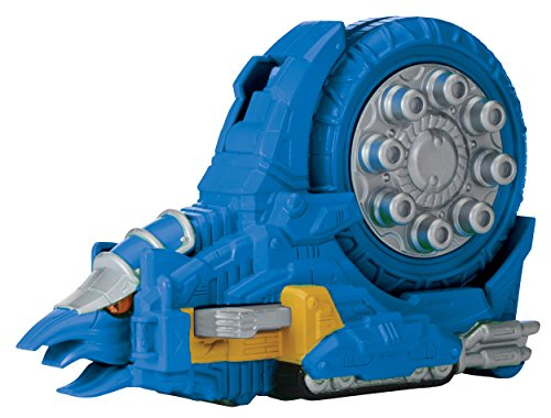 Power Rangers : Dino Super Charge – Ammonite Zord avec Charger – Dino Zord + Cartouche