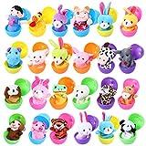 Twister.CK Marionetas de Dedo con Huevos de Pascua, 24 Piezas de...