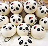 5Five Cute Panda Squishy Charm