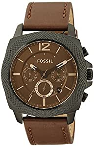 Fossil Privateer Analog Brown Dial Men's Watch -BQ1728