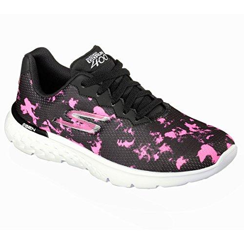 Sport scarpe per le donne, colore Nero , marca SKECHERS, modello Sport Scarpe Per Le Donne SKECHERS GO RUN 400 Nero Nero/Fuxia